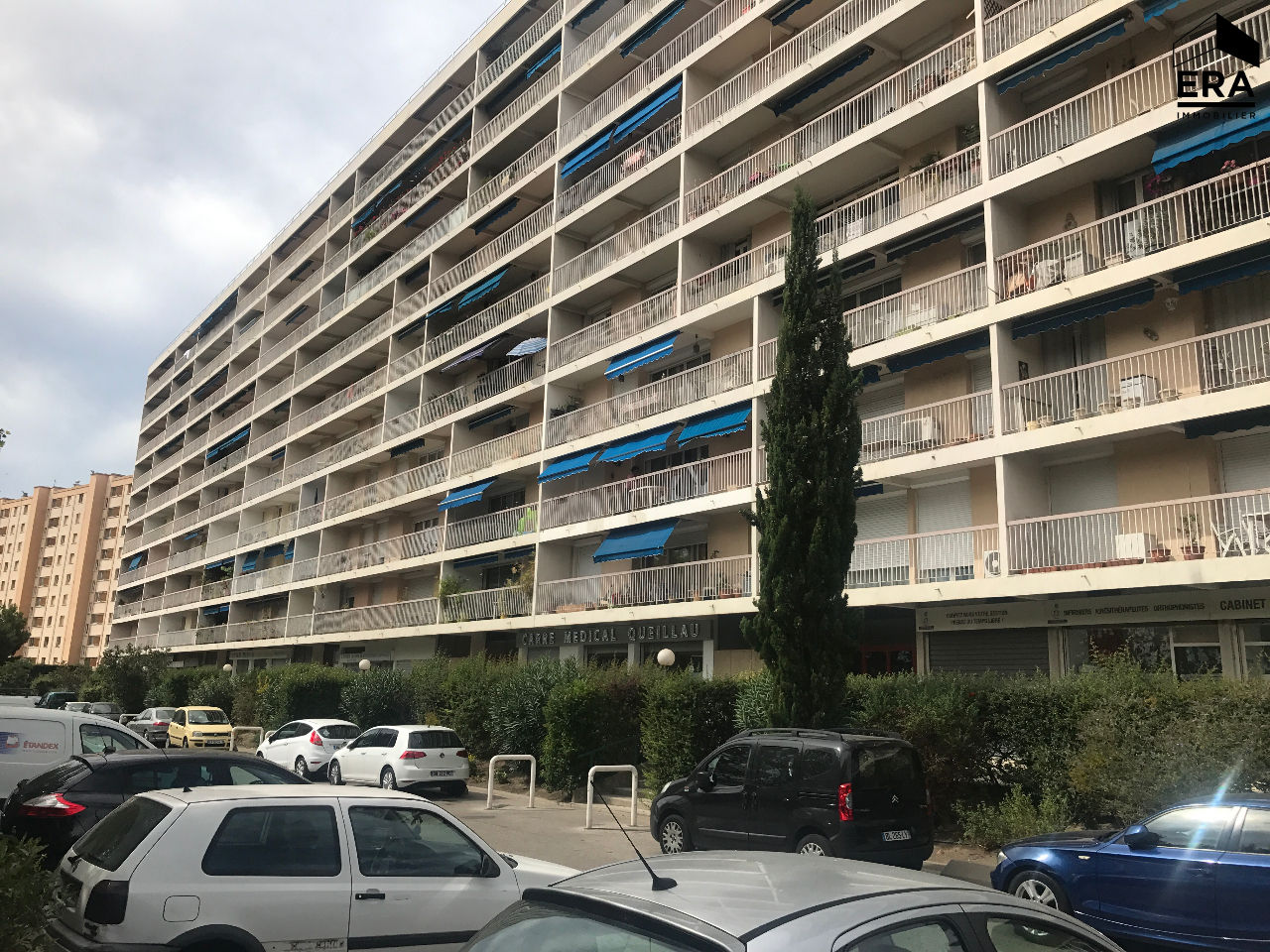 A VENDRE MARSEILLE 13014 ST MARTHE T3 TERRASSE PARKING RESIDENCE FERMEE
